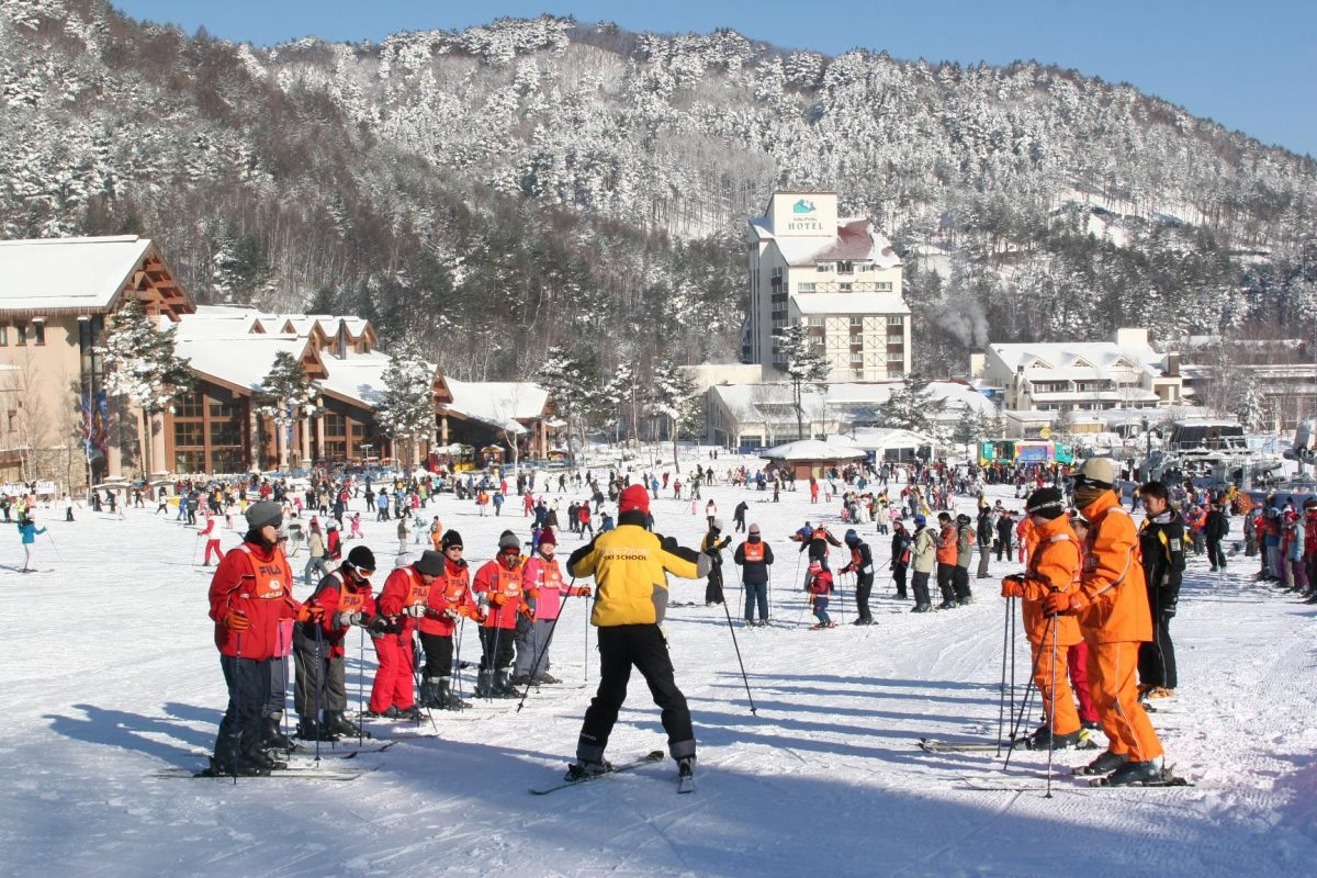 Ski Resort di Korea Selatan