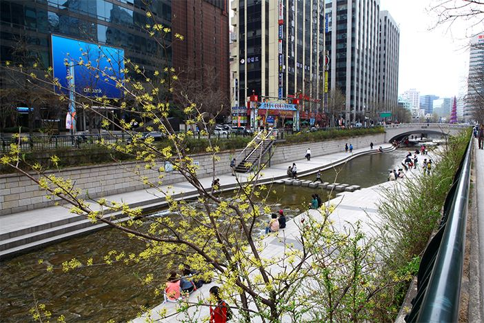 Cheonggyecheon Stream-