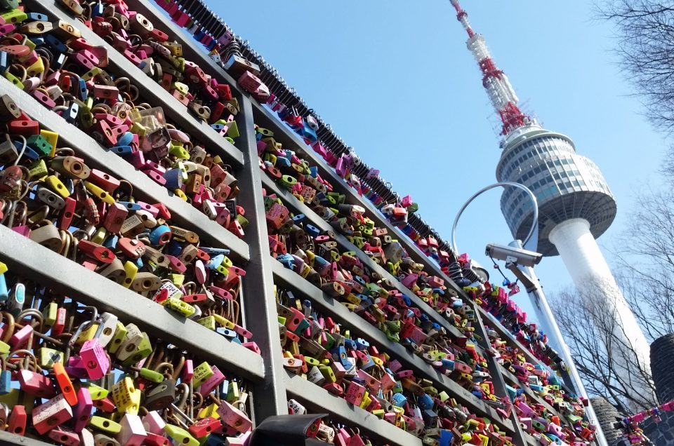 N Seoul Tower dan Love Locks