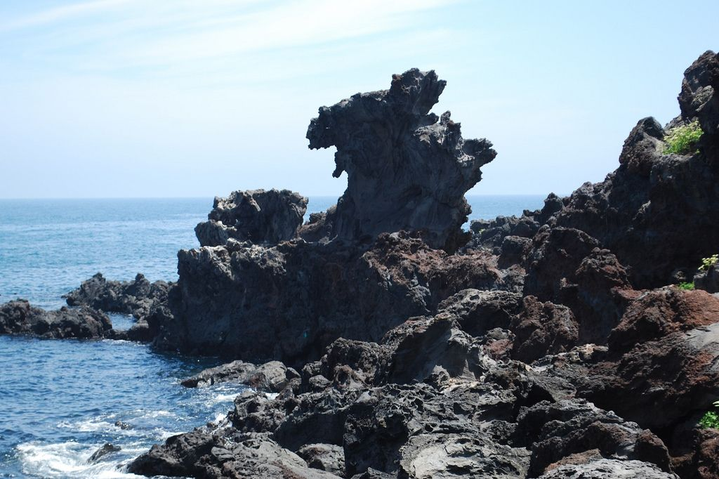 Yongduam Rock (Dragon Head Rock)