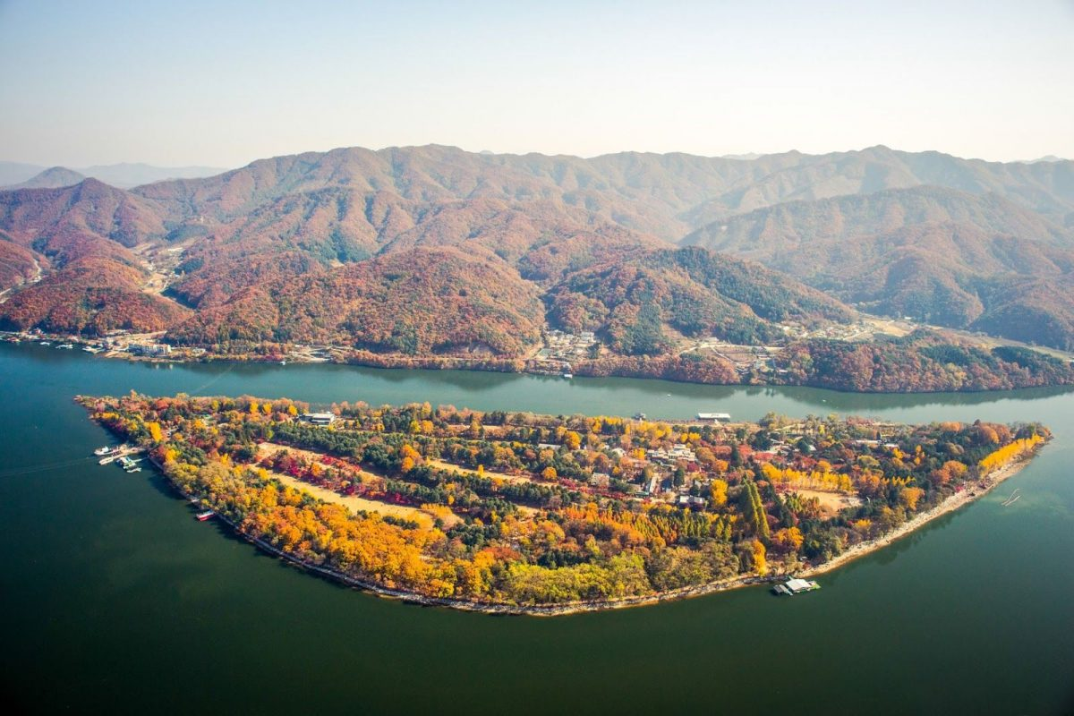 Nami Island Korea Selatan, Pulau Wisata Indah Nan Romantis di Seoul