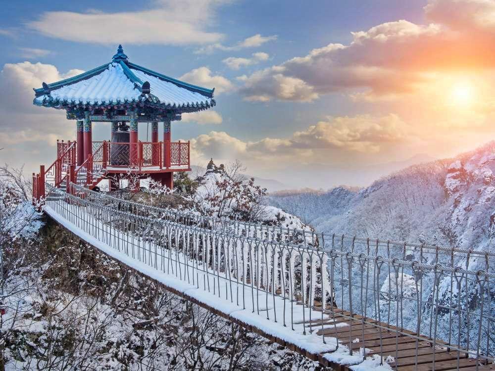 Paket Tour ke Korea Selatan 6 Hari 5 Malam Desember Musim Dingin (Winter) 2018