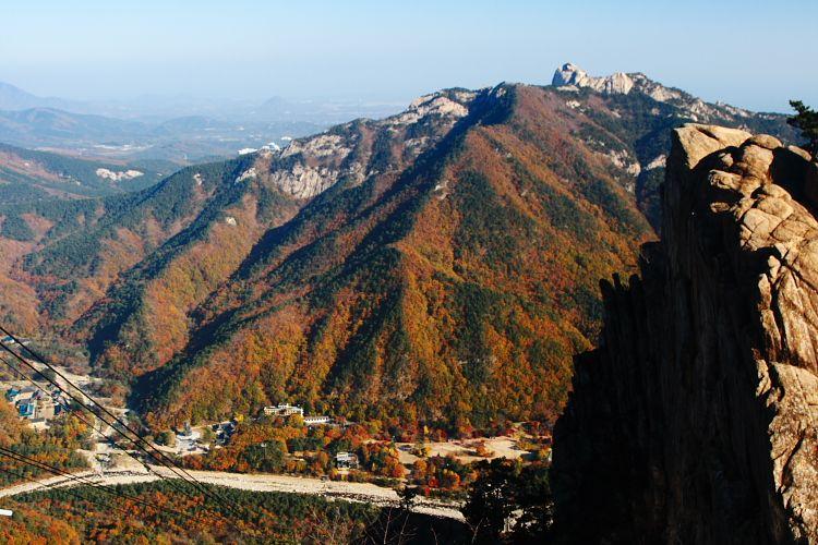 Gwongeumseong Fortress, Salah Satu Puncak Mt. Seorak Korea Selatan
