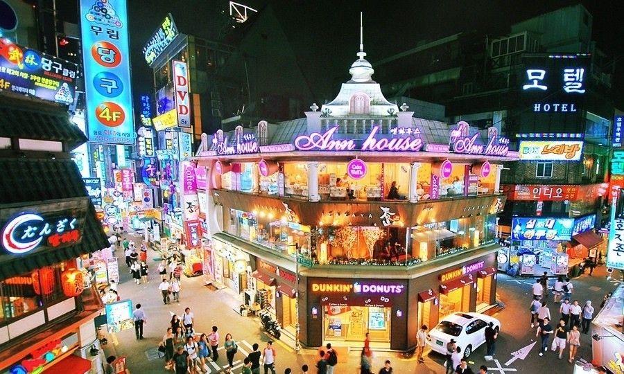 Itaewon, Tempat Belanja Turis dan Pusat Muslim di Korea