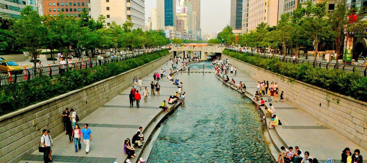 Cheonggyecheon Stream, Sisi Lain Dari Seoul