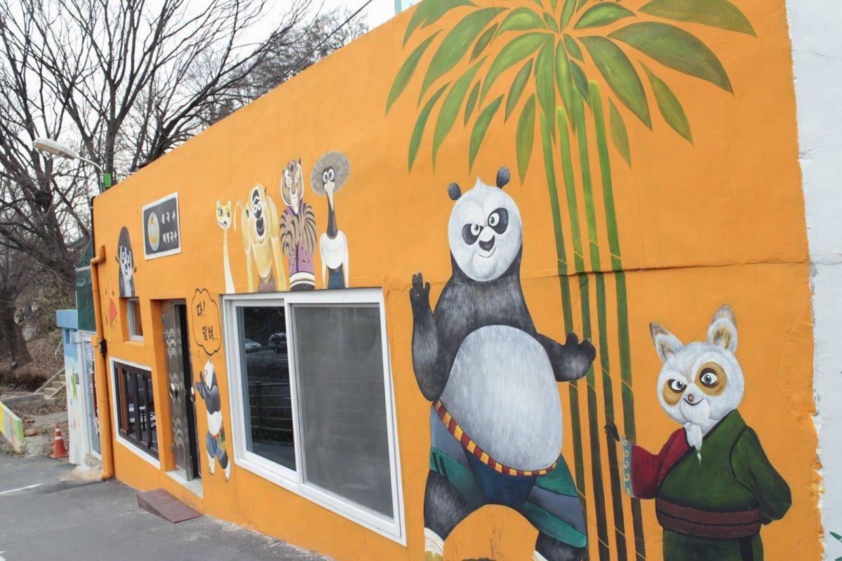 Jaman Mural Village, Wisata Seru ke Desa Mural Terpopuler di Korea