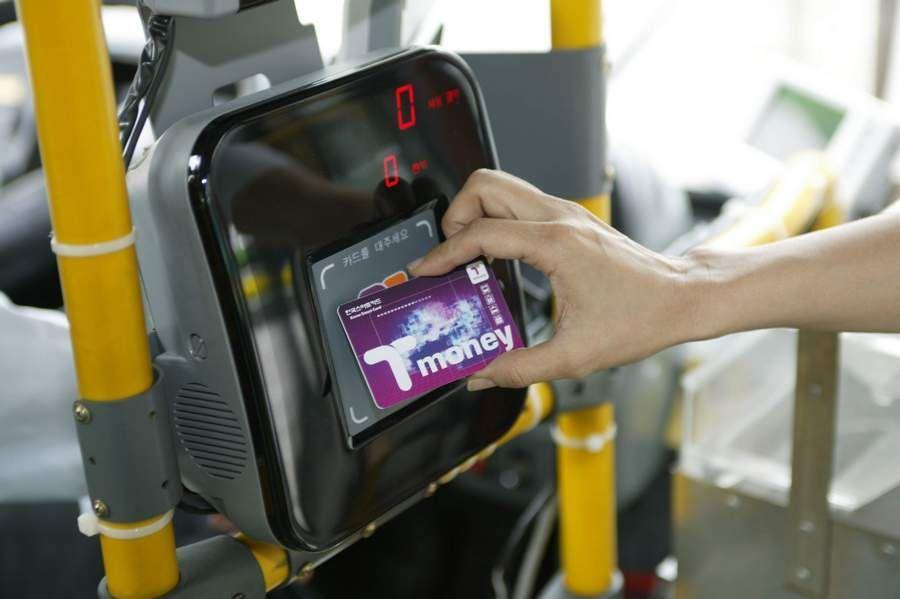 Membeli T-money Untuk Transportasi