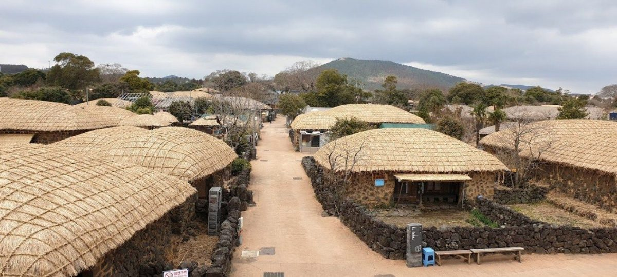 Songeup Folk Village, Desa Wisata Di Kaki Gunung Hall Jeju