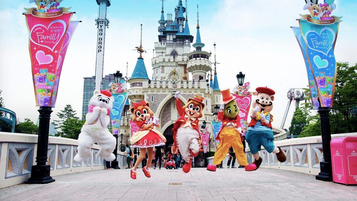 Lotte World Cinderella's Castle